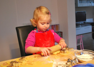Kinderspiele Backen