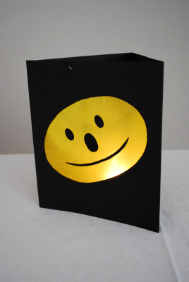 Smiley-Laterne