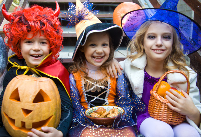 Halloweenparty - Kinderspiele-Welt.de
