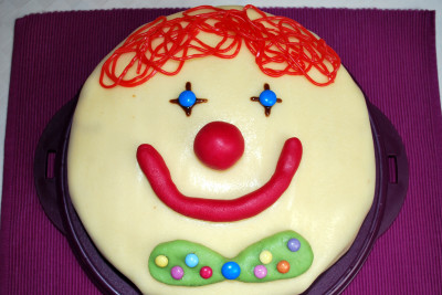 Clown-Kuchen