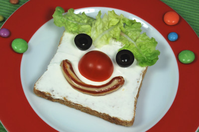 Clown-Brot